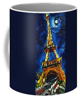 Eiffel Tower Coffee Mug by Carole Foret