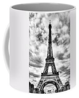 Eiffel Tower In Paris 3 Bw Coffee Mug