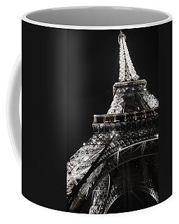 Eiffel Tower Paris France Night Lights Coffee Mug