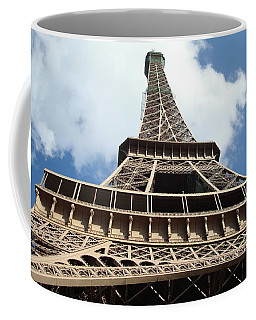 Eiffel Tower Perspective Coffee Mug by Kay Gilley