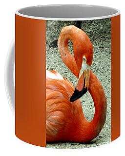 Figure Eight Flamingo Coffee Mug