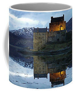 Eilean Donan Castle At Dusk Coffee Mug