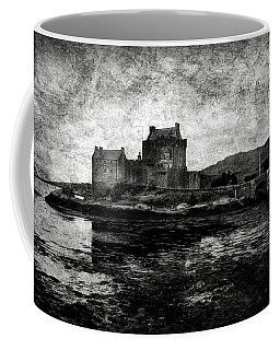 Eilean Donan Castle In Scotland Bw Coffee Mug