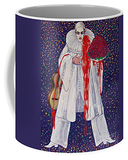 Coffee Mug featuring the painting Ein Gern Gesehener Gast by Pg Reproductions