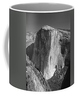 106663-el Capitan From Higher Cathedral Spire, Bw Coffee Mug
