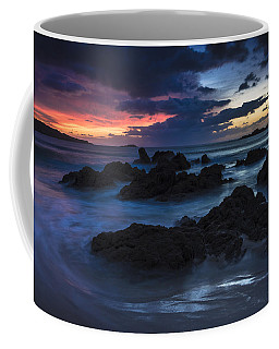 Coffee Mug featuring the photograph El Villar Beach Galicia Spain by Pablo Avanzini