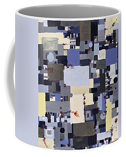 Elastic Dialog Coffee Mug by Regina Valluzzi