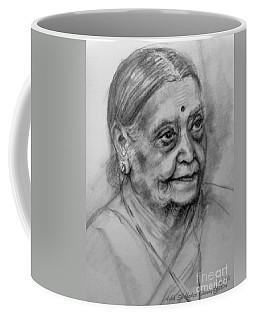 Elderly Lady Coffee Mug