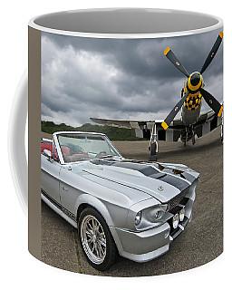Eleanor Mustang With P51 Coffee Mug