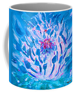 Electric Blue Water Lily By Mary Krupa  Coffee Mug