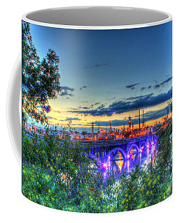 Electric City Refinery Bridge Coffee Mug