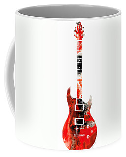Electric Guitar - Buy Colorful Abstract Musical Instrument Coffee Mug