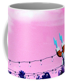 Electric Pink Coffee Mug