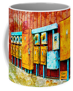 Electrical Boxes Iv Coffee Mug