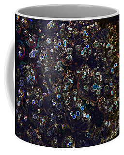 Electrified Neon Bubbles Coffee Mug