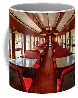 Coffee Mug featuring the photograph Elegance Past by Mary Jo Allen