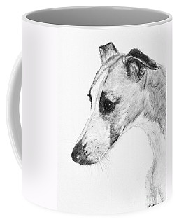 Elegant Whippet Coffee Mug by Kate Sumners