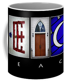 Elements Of Peace Coffee Mug by Cricket Hackmann