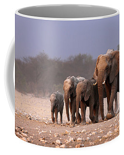 Elephant Herd Coffee Mug