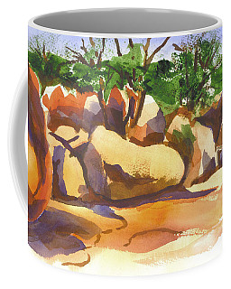 Coffee Mug featuring the painting Elephant Rocks Revisited I by Kip DeVore