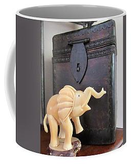 Elephant With Elephant Box Coffee Mug