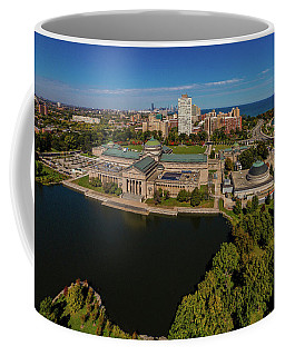 Elevated View Of The Museum Of Science Coffee Mug