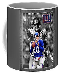 Eli Manning Giants Coffee Mug