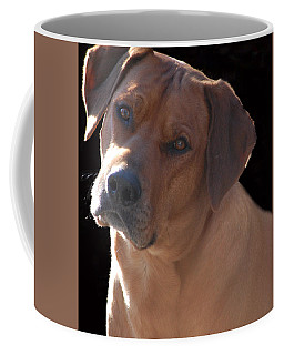 Coffee Mug featuring the photograph Eli by Mim White