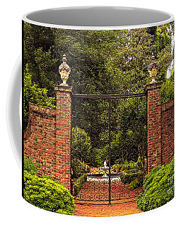 Elizabethan Gardens Coffee Mug by Lydia Holly