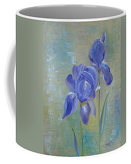 Elizabeth's Irises Coffee Mug