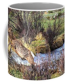 Elk In Motion Coffee Mug