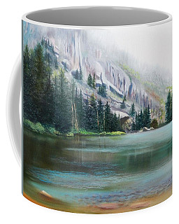 Elk Lake Mist Coffee Mug