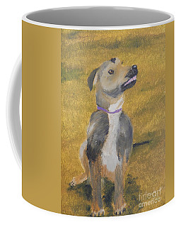 Coffee Mug featuring the painting Ella by Pamela  Meredith