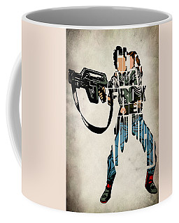 Ellen Ripley From Alien Coffee Mug