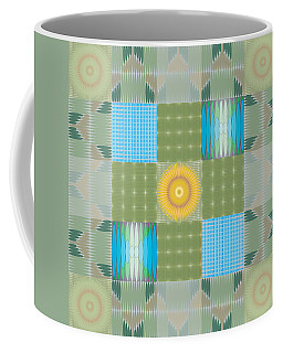 Ellipse Quilt 1 Coffee Mug by Kevin McLaughlin