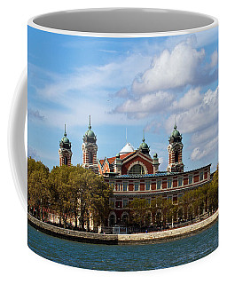 Coffee Mug featuring the photograph Ellis Island by Eleanor Abramson