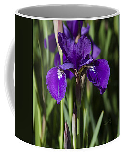 Eloquent Iris Coffee Mug