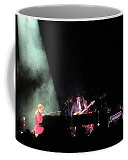 Elton And Band Coffee Mug by Aaron Martens