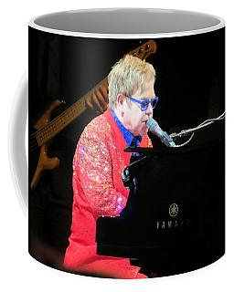 Elton John Live Coffee Mug