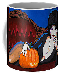 Elvira Dark Mistress Coffee Mug