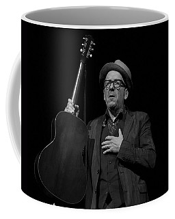 Coffee Mug featuring the photograph Elvis Costello by Jeff Ross