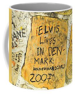 Coffee Mug featuring the photograph Elvis Lives In Denmark by Lizi Beard-Ward