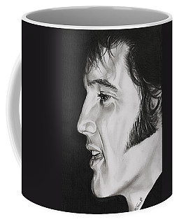 Elvis Presley  The King Coffee Mug