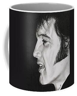 Elvis Presley  The King Coffee Mug by Fred Larucci