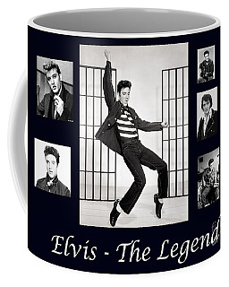 Elvis Presley - The Legend Coffee Mug