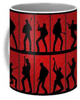 Elvis Silhouettes Comeback Special 1968 Coffee Mug