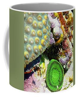 Emerald Artichoke Coral Coffee Mug