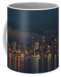 Emerald City At Night Coffee Mug