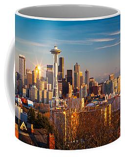Emerald City Sunset Coffee Mug