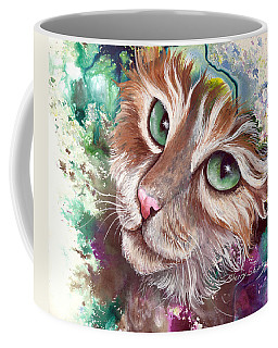 Emerald Eyes Coffee Mug